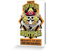 Band of Smash Brothers Greeting Card