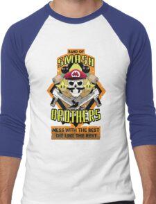 Band of Smash Brothers Men's Baseball ¾ T-Shirt