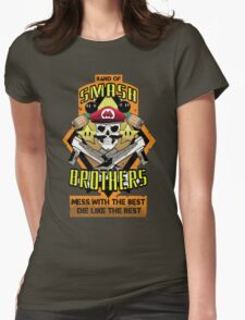 Band of Smash Brothers Womens Fitted T-Shirt