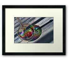 Playing With The Light Framed Print