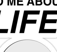 mostly harmless Sticker