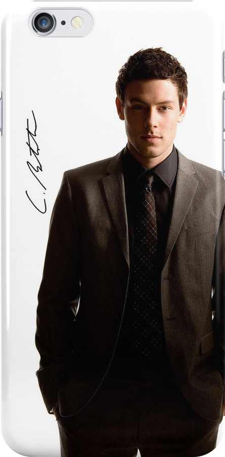 Cory Monteith Sig Case by lornadanielle