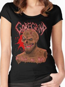 Goregrind - In Gore We Rot! Women's Fitted Scoop T-Shirt