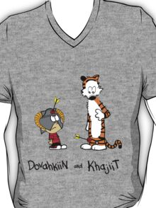 Dovahkiin and Khajiit T-Shirt