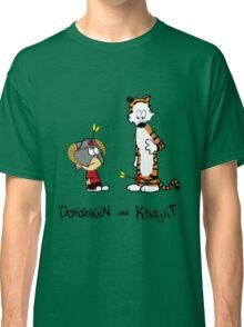Dovahkiin and Khajiit Classic T-Shirt