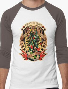 Santa Esperanza Tatuaria 02 Men's Baseball ¾ T-Shirt