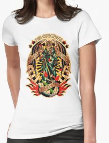 Santa Esperanza Tatuaria 02 Womens Fitted T-Shirt