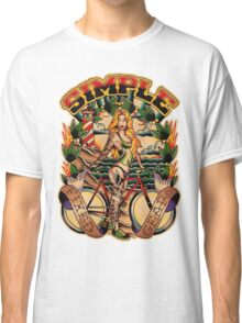 Simple Fixed Gear 01 Classic T-Shirt