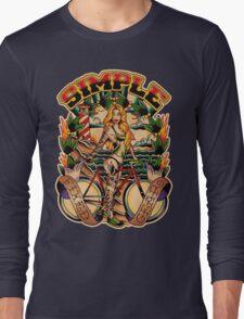 Simple Fixed Gear 01 Long Sleeve T-Shirt