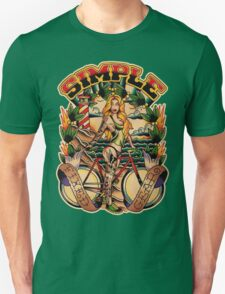 Simple Fixed Gear 01 Unisex T-Shirt