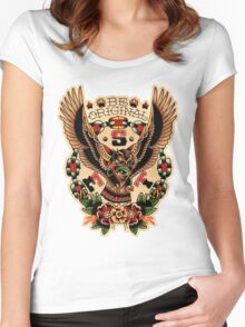 Santa Esperanza Tatuaria 03 Women's Fitted Scoop T-Shirt