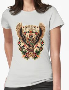 Santa Esperanza Tatuaria 03 Womens Fitted T-Shirt