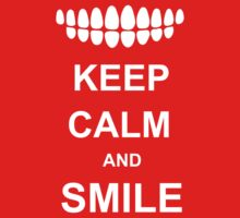 Keep calm and Smile by waqqas