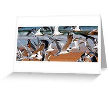entangled wings Greeting Card