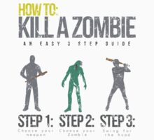 How To: Kill A Zombie T-Shirt