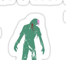 How To: Kill A Zombie Sticker