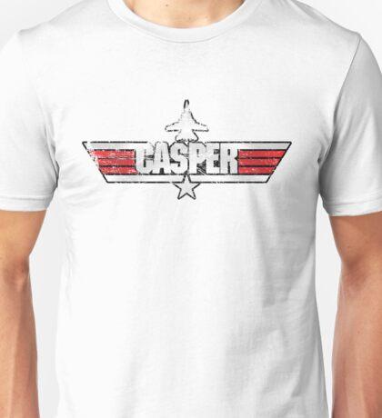 Custom Top Gun Style - Casper Unisex T-Shirt