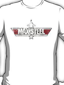 Custom Top Gun Style - Max Steel T-Shirt