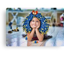 Lego Fashion Slave Canvas Print