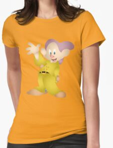 Dopey Womens Fitted T-Shirt