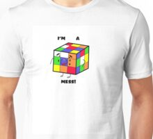 I'm a mess! OCD Rubik's Cube Unisex T-Shirt