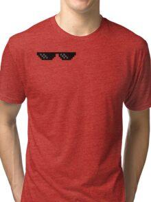 MLG glass Tri-blend T-Shirt