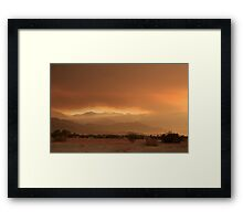 At Least a Ray of Hope Framed Print