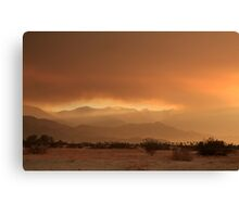 At Least a Ray of Hope Canvas Print