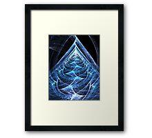 Folding Flowing Ascension Framed Print