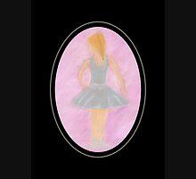Ballerina in blue Zipped Hoodie