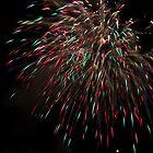 Firework - rain by Cédric Charbonnel