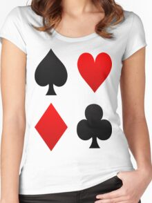 Suits Women's Fitted Scoop T-Shirt