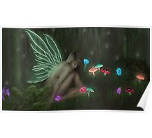Forest Fairy Print/Poster Poster