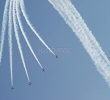Red Arrows: The Claw by justbmac