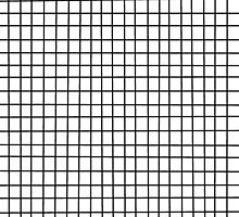 black on white grid by alice5854