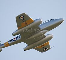 Soaring Silver: Gloster Meteor WA591 by justbmac