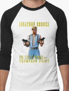 Jonathon Brooks Fan Club Official Tee Men's Baseball ¾ T-Shirt