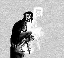 Gothic Gargoyle Perch (alpha with shadow) Unisex T-Shirt