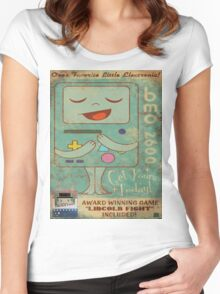 bmo Women's Fitted Scoop T-Shirt