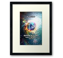 Spacecop 2 Framed Print