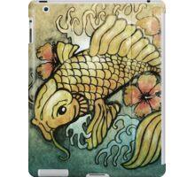 koi fish and Hibiscus  iPad Case/Skin