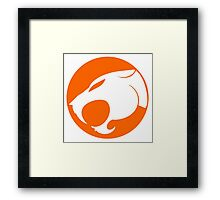 THUNDERCATS ORANGE Framed Print