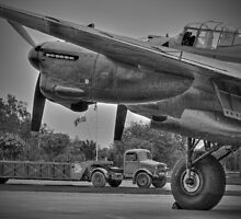 Bomber Command 1944 - HDR - BW by Colin  Williams Photography
