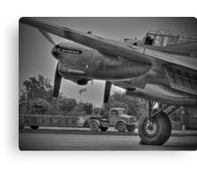 Bomber Command 1944 - HDR - BW Canvas Print