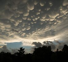 Bizarre Mammatus clouds in Toronto by Georgia Mizuleva