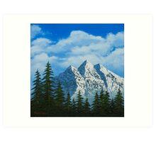 Alpine Scene Art Print