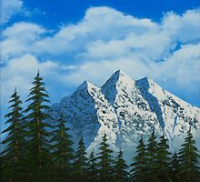 Alpine Scene by ArmstrongArt