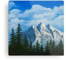 Alpine Scene Metal Print