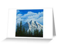 Alpine Scene Greeting Card