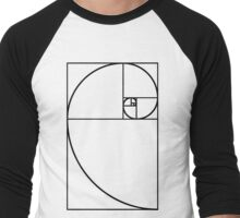 Golden Ratio - Transparent Men's Baseball ¾ T-Shirt
